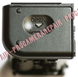 SONY DSC-W1 BATTERY COMPARTMENT BLACK