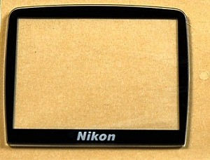 NIKON D2H LCD WINDOW DISPLAY AND ADHESIVE TAPE