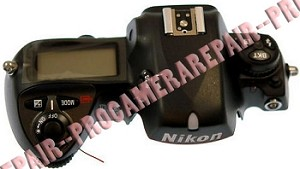 NIKON D2X TOP COVER UNIT