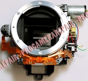NIKON D40 MIRROR HOUSING UNIT ASSEMBLY