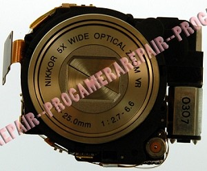 NIKON COOLPIX S640 ZOOM LENS ASSEMBLY UNIT
