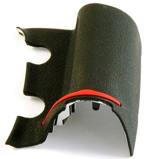 NIKON D300s REPLACEMENT MAIN GRIP RUBBER UNIT 1F998-997