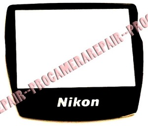 NIKON D70S LCD WINDOW DISPLAY PART