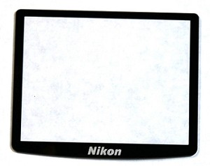 NIKON D700 LCD WINDOW DISPLAY AND ORIGINAL ADHESIVE TAPE