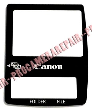 CANON EOS 1D 1DS LCD COVER WITH DOUBLE SIDED TAPE PACKAGE