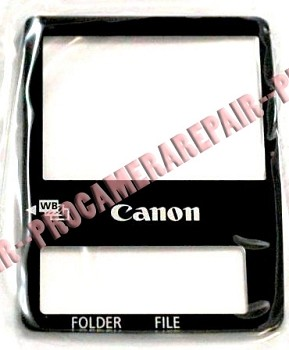 CANON TFT DISPLAY WINDOW SCREEN FOR EOS 1D AND EOS 1DS MARK II MODELS