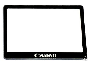 CANON 5D TFT LCD WINDOW COVER WITH DOUBLE SIDED TAPE PACKAGE