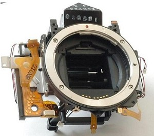 CANON MIRROR BOX ASSEMBLY FOR EOS 40D CG2-1992-010