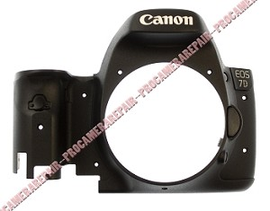 CANON EOS 7D DIGITAL CAMERA FRONT COVER HOUSING UNIT