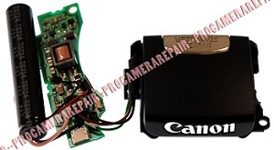 CANON SX100IS BLACK FLASH UNIT ASSEMBLY