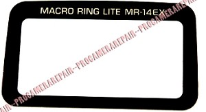 CANON MACRO RING LITE MR-14EX LCD DISPLAY WINDOW