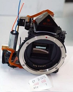 CANON EOS 20D MIRROR BOX HOUSING ASSEMBLY