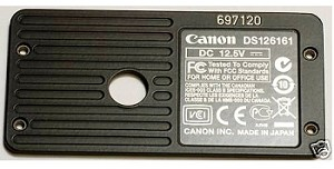 CANON EOS 1DS MARK III BODY NUMBER PLATE ***NO LONGER AVAILABLE***