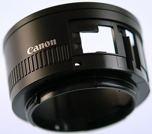 CANON EF 50MM 1.8 II INDEX RING