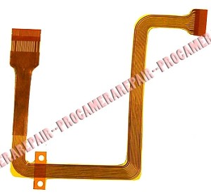 JVC GR-D240 D250 D270 D290 LCD DISPLAY SCREEN HINGE FLEX CABLE RIBBON FPC
