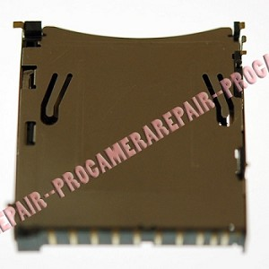 NIKON D90 D3000 D3100 D5000 D5100 D90 DIGITAL SLR CAMERA SD MEMORY CARD RECEPTACLE GUIDE UNIT OEM GENUINE REPAIR PART