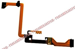PANASONIC NV-DS30 DS50 LCD SCREEN HINGE RIBBON CABLE FLEX FPC