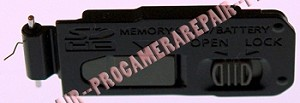 PANASONIC DMC-ZR1 BLACK BATTERY DOOR COVER LID UNIT