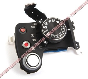 PANASONIC LUMIX DMC-G2 DIGITAL SLR CAMERA SHUTTER RELEASE MODE DIAL ON/OFF POWER CIRCUIT BOARD PCB