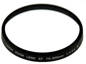 CANON EF75-300MM 4.0-56III NAME RING