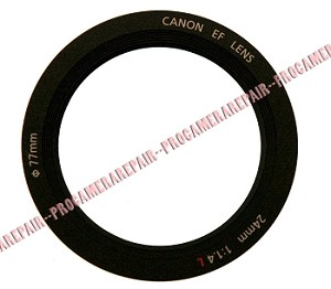 CANON EF 24MM 1.4 L II FRONT LENS NAME RING