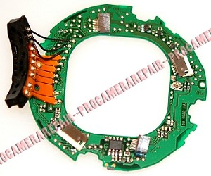 CANON EF 135MM F2.0 L USM MAIN PCB ASSEMBLY YG2-2255-000
